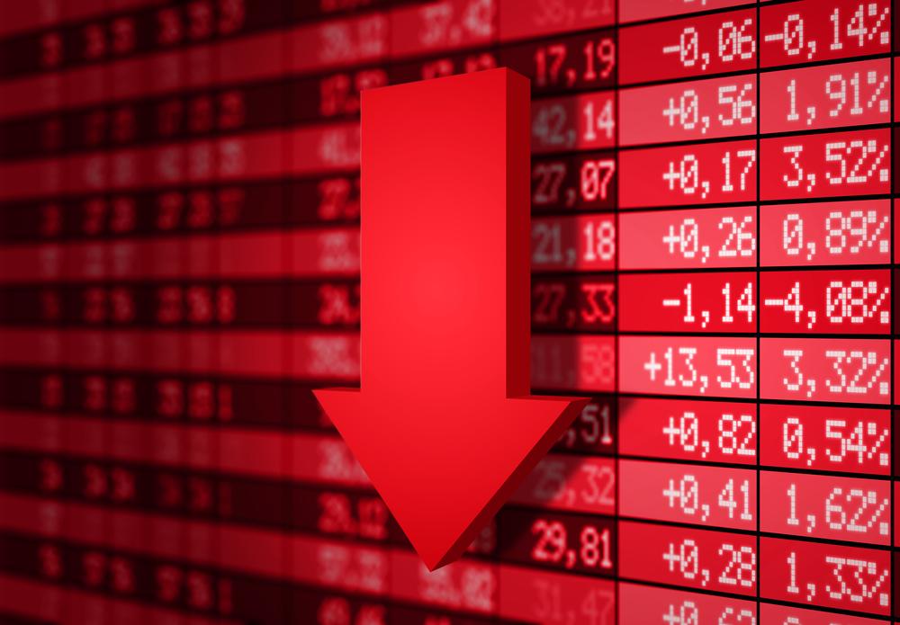 Propad krypto měn